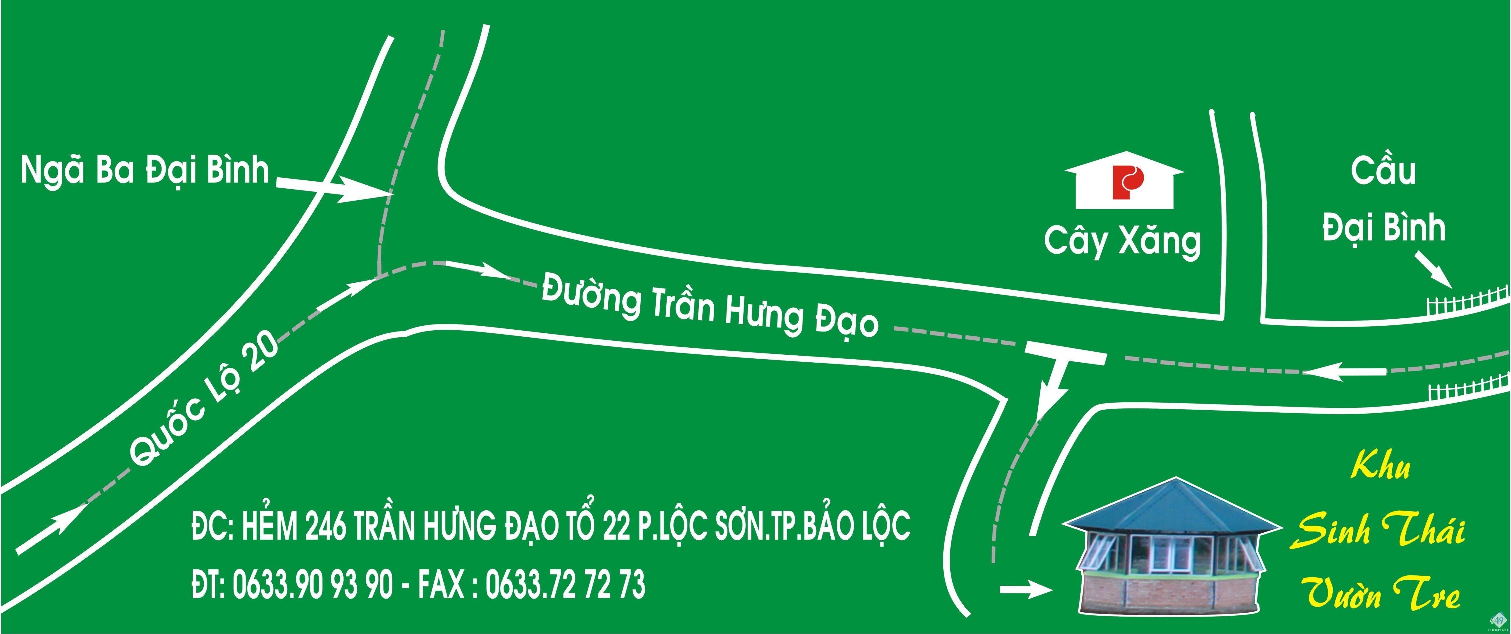 BAN CHI DAN VAO KHU SINH THAI.